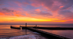 Whitby winter sunrise (Dave2638) Tags: eskvalley northyorkshire yorkshire