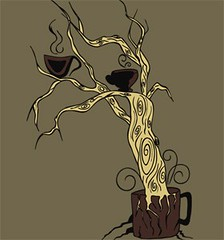 Coffee Tree Vector T-shirt Design (stockgraphicdesigns) Tags: aroma beverage botanical botany branch breakfast brown cafe caffeine cappuccino chocolate clipart coffee coffeetree cup dessert drink eat energy environment espresso food forest healthy home hot kitchen landscape latte liquid milk mocha morning mug nature object restaurant royaltyfree saucer smartpack13 steam taste tasting tasty tea tree treeteeshirts vapour wood