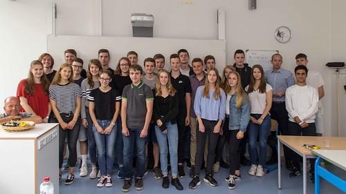 Besuch der Graf-Anton-Günther-Schule in Oldenburg und Austausch mit den SchülerInnen
