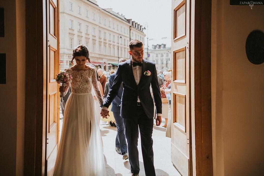 143 - ZAPAROWANA - Kameralny ślub z weselem w Bistro Warszawa