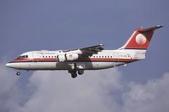 I-FLRO Schiphol 28-8-2000 (Plane Buddy) Tags: iflro bae 146 200 meridiana schiphol ams