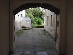 Secret garden (BurnThePlans) Tags: alley arch garden hidden street