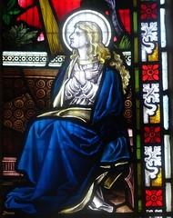[63233] Springthorpe : Annunciation Window (Budby) Tags: springthorpe lincolnshire church window stainedglass westlindseychurchesfestival