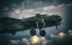 Sally B AKA Memphis Belle (nigdawphotography) Tags: plane aeroplane aircraft airplane bomber war b17 ww2 pilot crew fly flying sallyb usaf memphisbelle allied