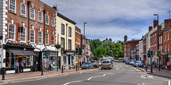 Town centre, Bewdley, Worcestershire (Baz Richardson (now away until 20 July)) Tags: worcestershire bewdley smalltowns markettowns towncentres loadstreetbewdley streetscenes
