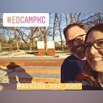 Pre-#EdcampKC excitement with Kyle Pace! April 28, 2018 Grain Valley HS thumbnail