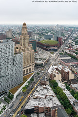 Hub View Part 2 (20180623-DSC09464-Edit) (Michael.Lee.Pics.NYC) Tags: newyork brooklyn downtown fortgreene hub 300ashland onehansonplace williamsburgsavingsbank clocktower barclayscenter flatbushavenue aerial openhouse makingplace tour architecture cityscape skyline sony a7rm2 fe24105mmf4g