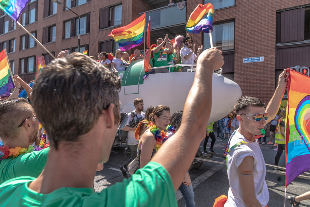 ABOUT SIXTY THOUSAND TOOK PART IN THE DUBLIN LGBTI+ PARADE TODAY[ SATURDAY 30 JUNE 2018]-141753
