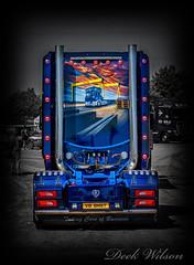 Big T Truck Run 2018 (Deek Wilson) Tags: scaniav8 truck airbrushing samson goliath selectivecolour harlandwolff hw normanemerson big t run 2018