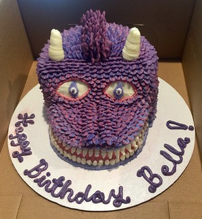 Purple Dragon Cake