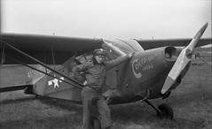 WWII United States Army (foundin_a_attic) Tags: wwii usa united states army plane aerial reconnecance ww2