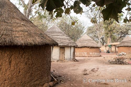 The Fulani at Boundiali - huts