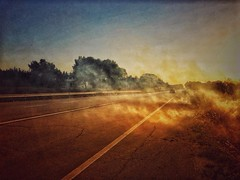 Hot street (marcus.greco) Tags: hot street fire smoke summer colors