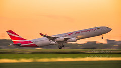 "Air Mauritius A340 departing Schiphol • <a style=""font-size:0.8em;"" href=""http://www.flickr.com/photos/125767964@N08/43224153902/"" target=""_blank"">View on Flickr</a>"