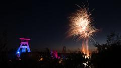 Zeche Ewald (F. Montino) Tags: fireworks extraschicht extraschicht2018 ruhrgebiet ruhrarea ruhr feuerwerk coal
