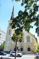 2018 05 05 035 Charleston, SC, downtown (Mark Baker.) Tags: 2018 america baker carolina charleston marion mark may sc south us usa church city day downtown outdoor photo photograph picsmark spring square states united urban
