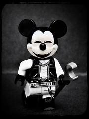 Rat in a Cage (LegoKlyph) Tags: lego custom brick block mini figure disney mickey mouse cartoon rat punk song