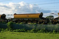 12983 Kingsthorpe 020618 (Dan86401) Tags: 12983 nr12983 jja autoballaster open bogie ballast hopper wagon freight nr networkrail departmental infrastructure engineers wilsonscrossing kingsthorpe northampton wcml 6r02