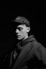 The Jump Off VI (OlivierVanIsle) Tags: thejumpoff netherlands tilburg portrait portraits people person monochrome late night nightphotography europeatnight proera blackandwhite moody