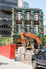 628 St-Jacques (caribb) Tags: montreal montréal quebec québec canada urban city 2018 downtown centreville construction constructionsite cranes workers trucks floors buildings building architecture design new newbuilding 628stjacques condos