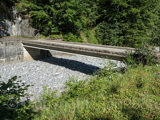 SIH110 Testing Center Ochsenboden Road Bridge 3 over the Sihl River, Studen, Canton of Schwyz, Switzerland