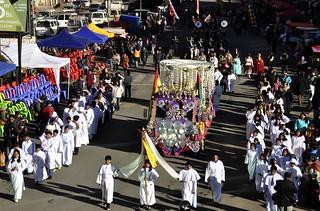 FESTIVIDAD DE LA VIRGEN DEL CARMEN FUE ENCABEZADA POR LA ALCALDESA CHAPETON EN LA ZONA 16 DE JULIO (15)