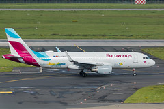 _MG_0639 (Benedikt Lang) Tags: a320214 avgeek aero aeroplane aeropuerto aircraft aircraftphoto airline airliner airplane airport airways aviation avion aviones daewg dusath ew9680 ewg3yp eurowings flight flugzeug flying germany luchthaven luchtvaart luftfahrt outdoor pilot piloting planespotting ramp runway spotter spotting tarmac taxi taxiway transportation travel vehicle visitswedenlivery vorfeld wings düsseldorf nordrheinwestfalen deutschland de airbus a320 a320200 sharklets speciallivery