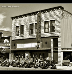 July 20 2012 - Roman Theater in Red Lodge, Montana (La_Z_Photog) Tags: lazy photog elliott photography worland wyoming beartooth motorcycle rally mountains highway pass harley davidson