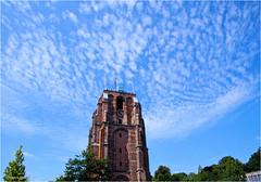 Old Tower (Hindrik S) Tags: aldehou oldehove tower toer turm toren clouds wolken sky loft lucht hemel himel leeuwarden ljouwert liwwadden 2018 kh2018 lf2018 kulturelehaadstêd2018 culturelehoofdstad sonyphotographing sony sonyalpha amount alpha tamronaf16300mmf3563dillvcpzdmacrob016 tamron 16300 a57 α57 slta57 monument old oldehoofsterkerkhof aldehoustertsjerkhôf history skiednis geschiedenis geschichte town city stêd stad stadt