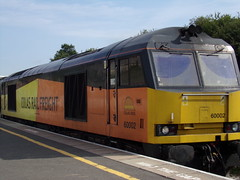 Colas Rail Class 60 60002 (Alex S. Transport Photography) Tags: train vehicle railway wellingborough freight class60 colas rail 60002 616x