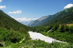 20180709-71-Looking back along dry river (Roger T Wong) Tags: 2018 alps europe montblanc rogertwong sel2470z sony2470 sonya7iii sonyalpha7iii sonyfe2470mmf4zaosscarlzeissvariotessart sonyilce7m3 switzerland tmb tourdumontblanc bushwalk hike outdoors summer tramp trek walk