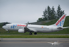 Air Europa - EC-LVR - B737-800 (Aviation & Maritime) Tags: eclvr aireuropa boeing boeing737 b737 b737800 boeing737800 bgo enbr flesland bergenairportflesland bergenlufthavnflesland bergen norway