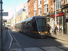 Tram in Dublin (Public Transport Photos) Tags: luas redline tram dublin altsom lightrail