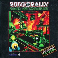 I picked up what I thought was a full copy of the old Robo Rally, but it's part old, part new. That being said, if you're after the Armed and Dangerous boards, please let me know. (Geek-Craft) Tags: instagram 2016