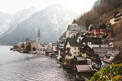 lake view (2kreviews) Tags: architecture austria building church daylight fjord hallstatt hill houses island lake landscape mountain outdoors scenic seashore sight tourism town trees village water waterfront winter royalty free images