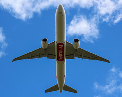 Emirates A6-EPS (megatroncox) Tags: emirates boeing dubai b777 777 overhead belly uae emirati dublin