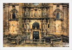 Enter (Fr@nk ) Tags: church cathedral santiagodecompostela spain europe frnk 6d 1740mm pelgrim pilgrim pellegrino krumpaaf mrtungsten62 interesting lyng interestingness