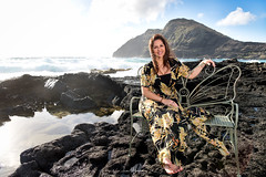 Monica @ Makapu'u Tide Pools 02 (JUNEAU BISCUITS) Tags: model modeling portrait portraiture ocean beach makapuu hawaii hawaiiphotographer beauty