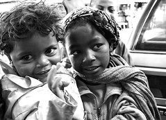 Street Kids (Rod Waddington) Tags: africa african afrique afrika madagascar malagasy culture cultural child children girls streetphotography street outdoor blackandwhite monochrome outdoors