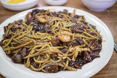 Jaengban Jajang. (Kim Jin Ho) Tags: korean traditional quisine food chinese seafood shrimp soybean sauce pork squid