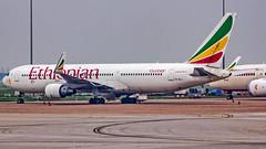Ethiopian Airlines Boeing B767-300(ER) ET-ALJ New Delhi (DEL/VIDP) (Aiel) Tags: ethiopian ethiopianairlines boeing b767 b767300er etalj newdelhi delhi canon60d canon24105f4lis