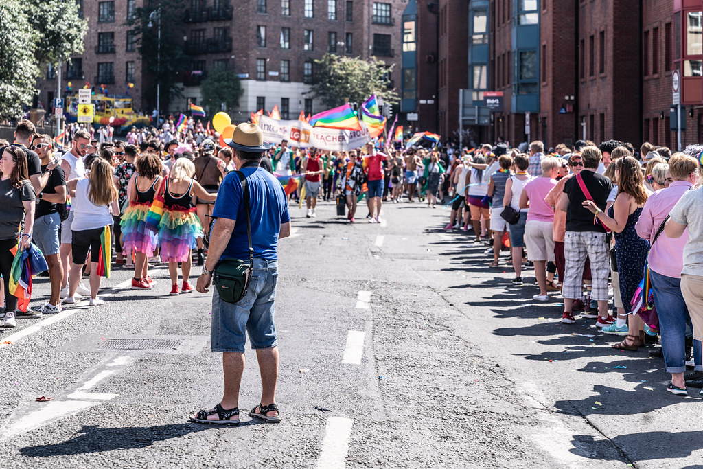 ABOUT SIXTY THOUSAND TOOK PART IN THE DUBLIN LGBTI+ PARADE TODAY[ SATURDAY 30 JUNE 2018] X-100260