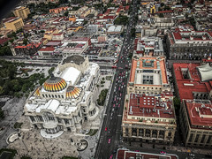 Mexico City from Above (Flipped Out) Tags: mexico mexicocity cdmx ciudaddemexico mx