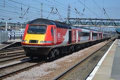 LNER Class 43s 43320 & 43310 - Doncaster (dwb transport photos) Tags: lner hst locomotive 43320 43310 doncaster