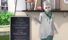 Stopping for Tea! (Rhaenys.) Tags: lesailu posefair gingerfish truth alaskametro catwahead catya maitreya lara redgrave iban glamaffair cheeky {whatnext} whatnext gullswingmarina marina shopping secondlife virtualgirls sllooksgoodtoday virtualfashion blog blissevent