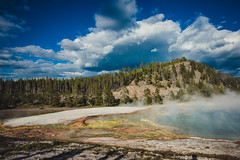 Grand Prismatic Spring-1.jpg (VoxLive) Tags: grandprismaticspring mountains geiser yellowstone travel grandtetons nationalparks