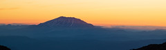 Mount Saint Helens (TroyMasonPhotography) Tags: alpine basecamp climbing hills landscape lunchcounter mountadams mountaineering nature outdoors person sunset washington pacificnorthwest fog fire orange hiking camping hike snow ice mountain