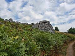 Bolos graníticos en cabo Udra, Bueu (Pontevedra) (Miguelanxo57) Tags: rocas granito paisaje naturaleza vegetación caboudra bueu pontevedra galicia cielo