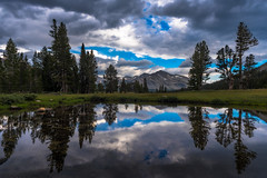 Many Faces of Mt. Dana (Yaecker Photography) Tags: sierra sierranevada mountains yosemite yosemitenationalpark yosemitevalley mountain sky skyporn clouds reflection reflections water waterporn waterscape us395 tiogapass tiogaroad
