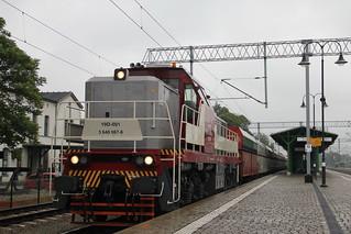PMT 19D-001 , Wrocław Leśnica train station 18.07.2018